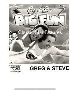 B92-Greg-amp-Steve-Big-Fun-8-x-10-promotional-photograph
