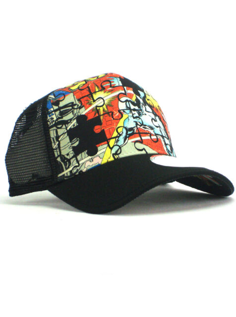 aba04529675ed New Era Silver Surfer  7 Adjustable Hat Marvel Comics Buscema Puzzle ...