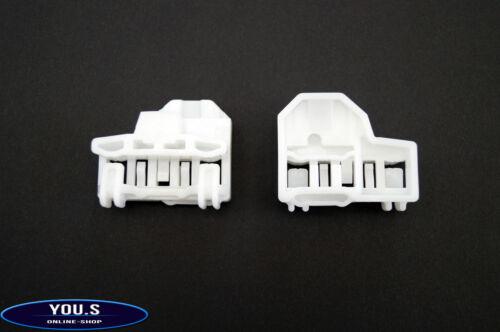 2 Fensterheber Reparatursatz Mitnehmer Vorne Rechts Audi VW Seat Skoda POLO 6N1