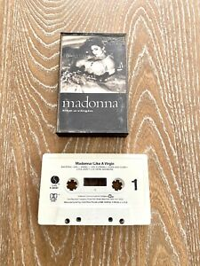 Madonna Like A Virgin Cassette Tape 1984 Sire Records Vintage Madonna