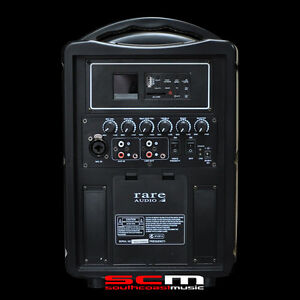 RARE-AUDIO-RB80-PORTABLE-PA-SYSTEM-80-WATTS-COMPACT-SIZE-BATTERY-OR-AC-POWERED