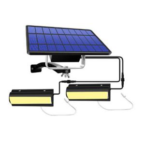 2 in 1 Double Outdoor Head Solar Pendant Light Indoor Garden Lamp Lights Camping