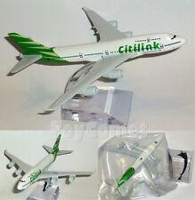 Citilink Indonesia Airlines Boeing 747 Airplane 16cm DieCast Plane Model