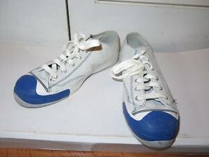 a17eda78f21439 MENS PRO-KEDS LT GRAY WHITE BLUE SUEDE   LEATHER SNEAKERS SIZE 10