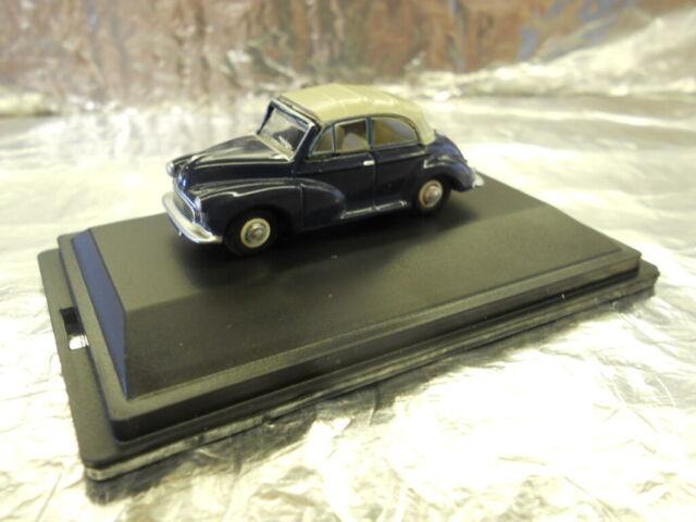 76MMC004 Oxford Diecast Traf Blue//Pearl Grey Minor 1//76 Scale OO Gauge