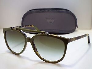 5188e5dcd95 Authentic Emporio Armani EA 4039 5267 8E Tortoise Green Gradient ...