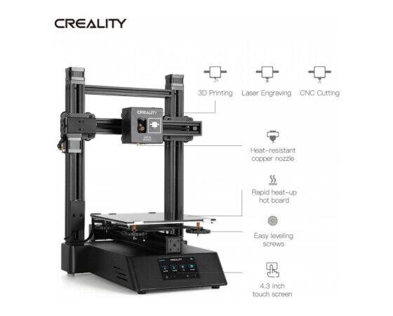 Stampante 3D Creality CP-01 | 3 in 1 | stampante 3D | 3D printer