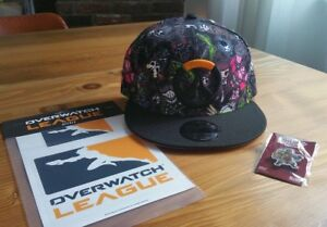e548f06f8b9 Image is loading SDCC-Tokidoki-x-Overwatch-Heroes-SnapBack-Pin-and-