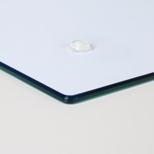 Herdabdeckplatten aus Glas Spritzschutz Weiße Rose 2x30x52 cm