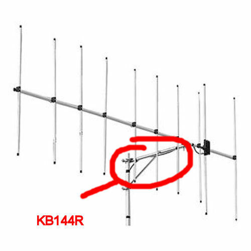 Diamond KB144R Support Boom Element for A144S5 and A144S10 Antennas