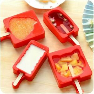 Image Is Loading Silicone Cool Summer Kitchen Utensils  Cartoon Popsicle Maker