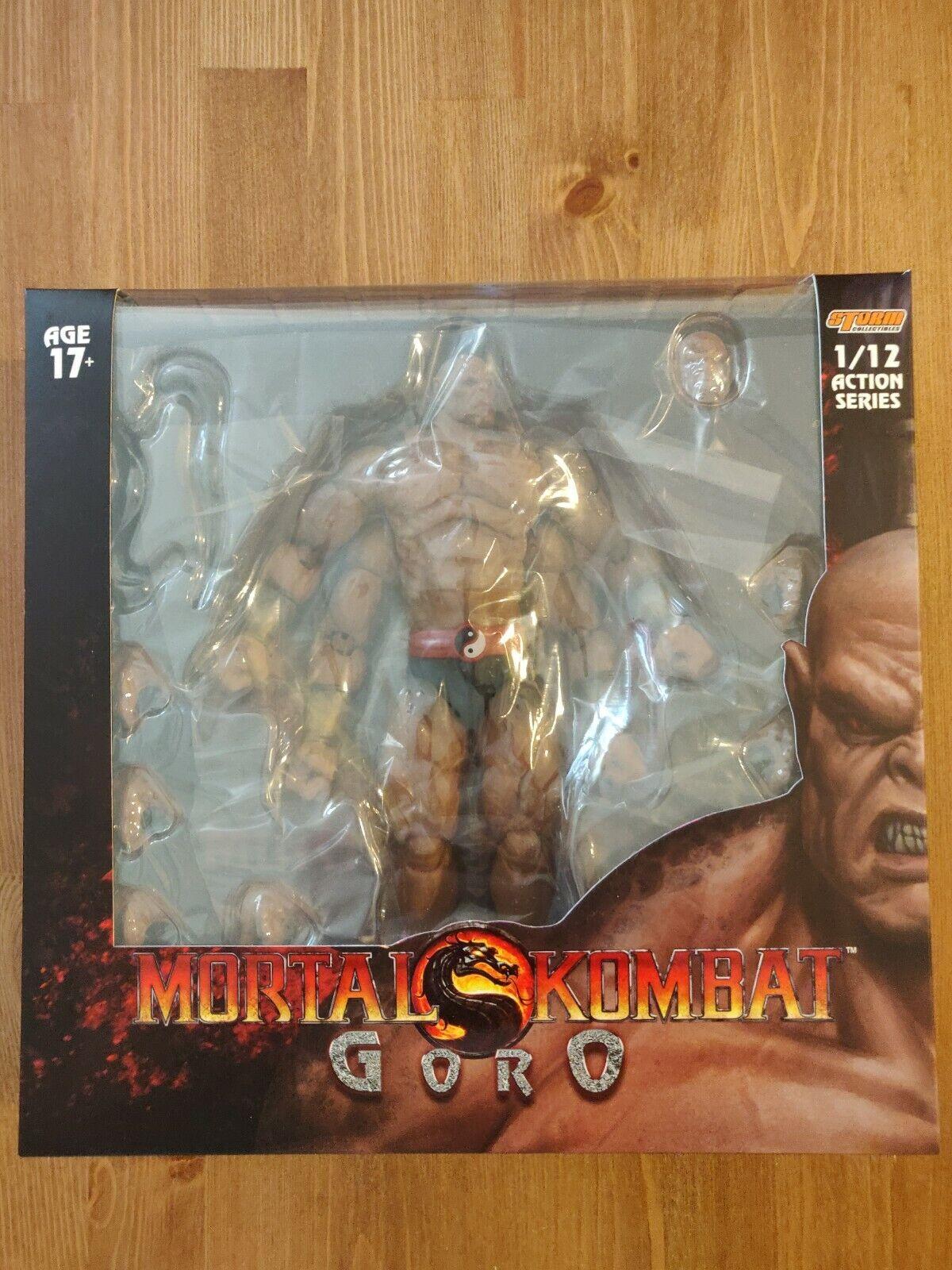 Mortal Kombat  Gor 1 12 Scale Action Figure  Storm Collectibles