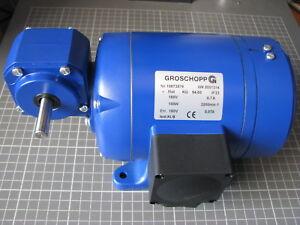DC Boîte de Vitesse Moteur GROSCHOPP kg94-60 180 V 0,1 kW 457u