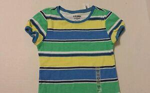 Old-Navy-Girls-Shirt-XS-5-Striped-Kids-New