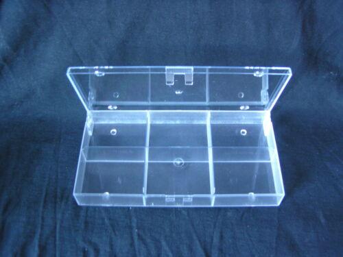 6-er transparent 10 Stück Aufbewahrungskästen Sortimentskästen Sammelboxen