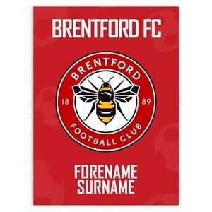 Brentford-F-C-Personalizado-Manta-Crest-100x75