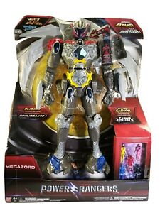"Movie Interactive 21"" Megazord Deluxe Action Figure [5 Mini Power Rangers] NIB"
