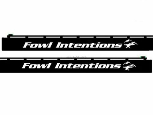Fowl Intentions SBD016 Barrel Decal