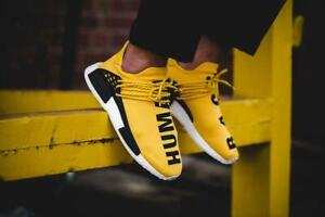 b40a76274 2019 NMD Human Race Pharrell Williams Hu trail NERD Men Women ...