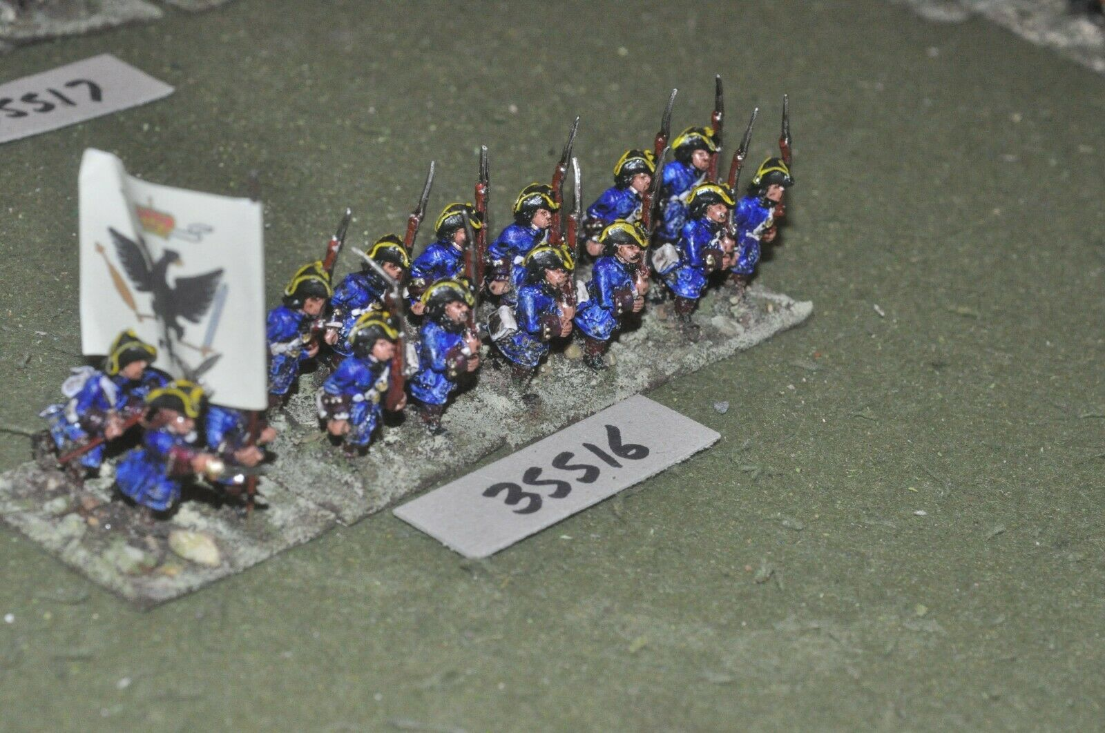 25mm marlburian     austrian - regiment 16 figures - inf (35516) c16ed4
