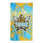 Gold Coast Titans NRL Cape and Wall Flag **NRL OFFICIAL MERCHANDISE**