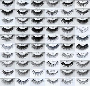 63c462da1e4 6 Pairs KARA 100% Human Hair False Eyelashes All Styles | eBay