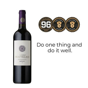 Château Beauvillage Médoc 2018 Red Wine pack of 6