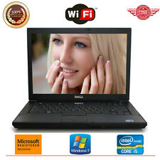"""Dell Laptop Latitude E6410 14"""" Core i5 2.4GHz 4GB 250GB HD Windows 7 Notebook PC"""
