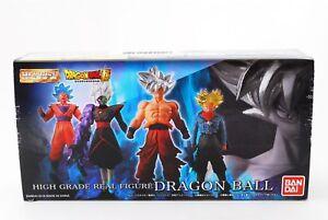 Bandai-Dragon-Ball-Z-Super-Hg-Premium-Plata-Edicion-Conjunto-de-4-Japon-F-S