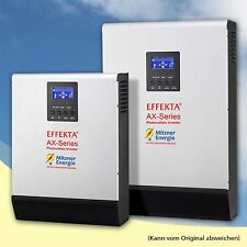 Effekta AX K 1000 24V / 0,6KWp-PV / AX-Serie 1KVA Last / Hybrid Wechselrichter