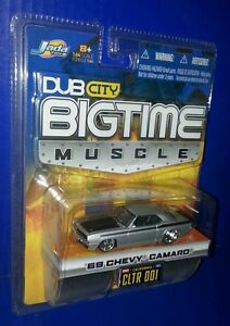 Dub-City-Bigtime-Muscle-1969-CHEVY-CAMARO-Muscle-Car-Jada-Toys-2004-1-64