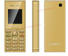 ZANCO Candy Phone MP4 Camera Bluetooth FM Radio Luxury Candy Slim Mobile - GOLD