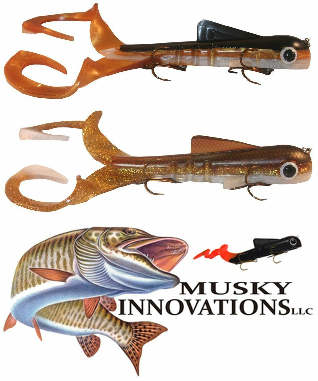 Musky Innovatiosn Double Dawg Magnum 30 cm   360 g.   Farbauswahl