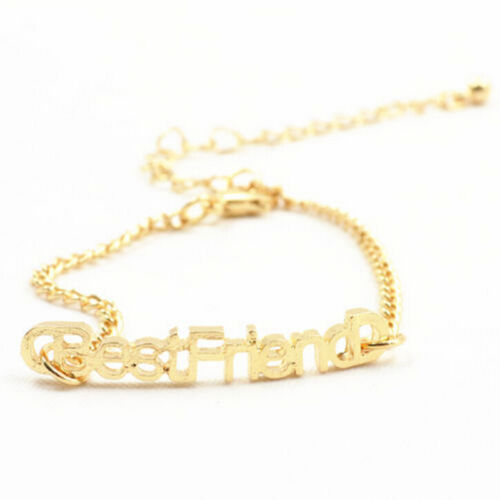 1//2x Charm Letters Friendship-Bracelets For Unisex Jewelry Gifts for Friend LDUK