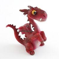 Miniature Mini Red Dragon 4463 Fairy Garden Dollhouse