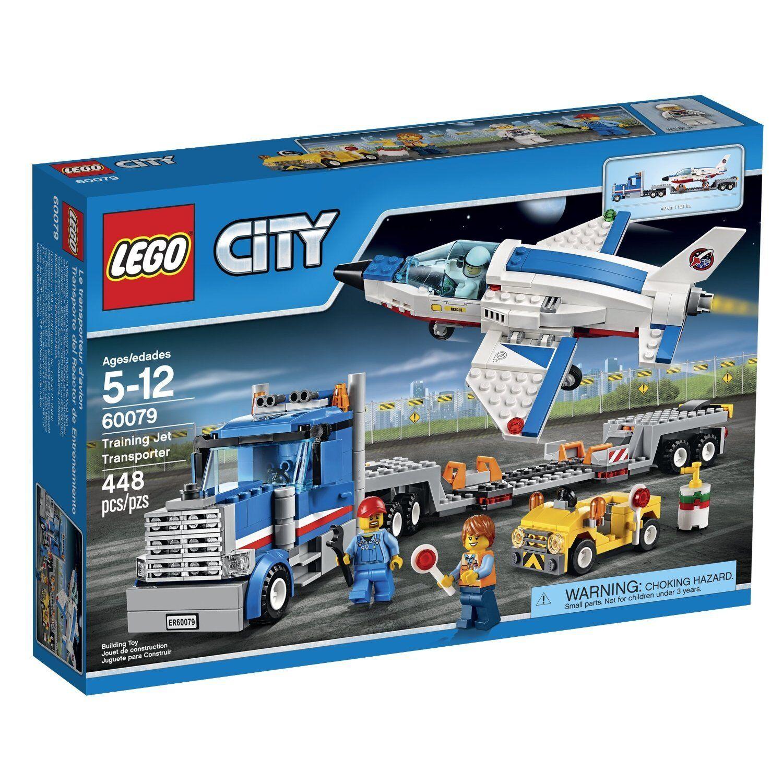 LEGO City Space Transporter Port 60079 Training Jet Transporter Space Building Set New In Box 1c3edc