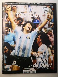 FRANCE FOOTBALL - MAGAZINE ESPECIAL DIEGO MARADONA / N° 3882 1/12/2020
