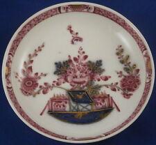 Antique Mid 18thC Meissen Porcelain Tischchenmuster Saucer Porzellan Untertasse