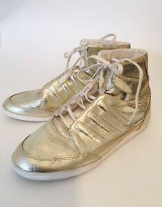 Details zu ADIDAS Y 3 HIGH TOP SNEAKER SCHUHE DAMEN Schuhe Gold Gr.39,5 YOHJI YAMAMOTO