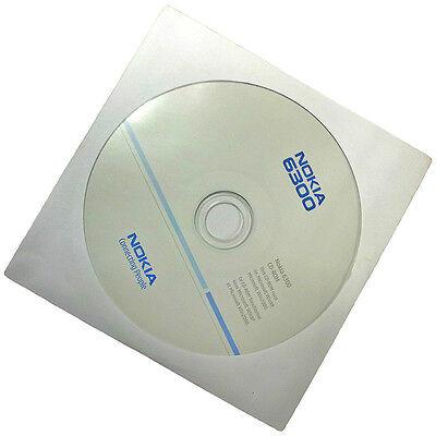 Nokia 6300 original Software CD ROM PC Suite Synchonisationssoftware Neu und OVP