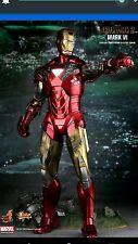 Hot Toys Iron Man 2 (Mark VI) Sideshow Exclusive MIB 2011