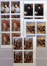 KONGO BRAZZAVILLE 1970 225-29 U C89-93 4x PHILEXAFRIEQUE Paintings Gemälde Art