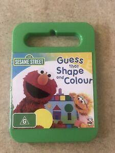 SESAME-STREET-GUESS-THAT-SHAPE-AND-COLOUR-DVD-R4-AUS-SELLER