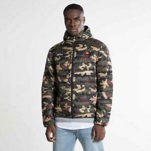 Ellesse-Lombardy-Padded-Jacket-Mens-Camo-Graphic-Outdoor-Wear-SHY01115-CAMO