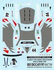 Colorado Decals 1/43 MCLAREN F1 GTR #44 A. Nakaya G. Ayles K.Tsuchiya Le Mans 97
