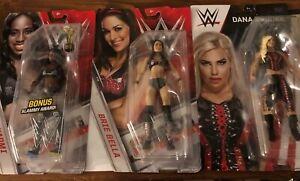 WWE-Mattel-Wrestling-Figures-Brie-bella-Naomi-amp-Dana-Brooke
