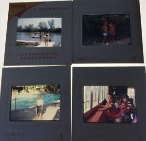 Lot-Of-4-Vintage-1960-s-Photo-Slides-Children