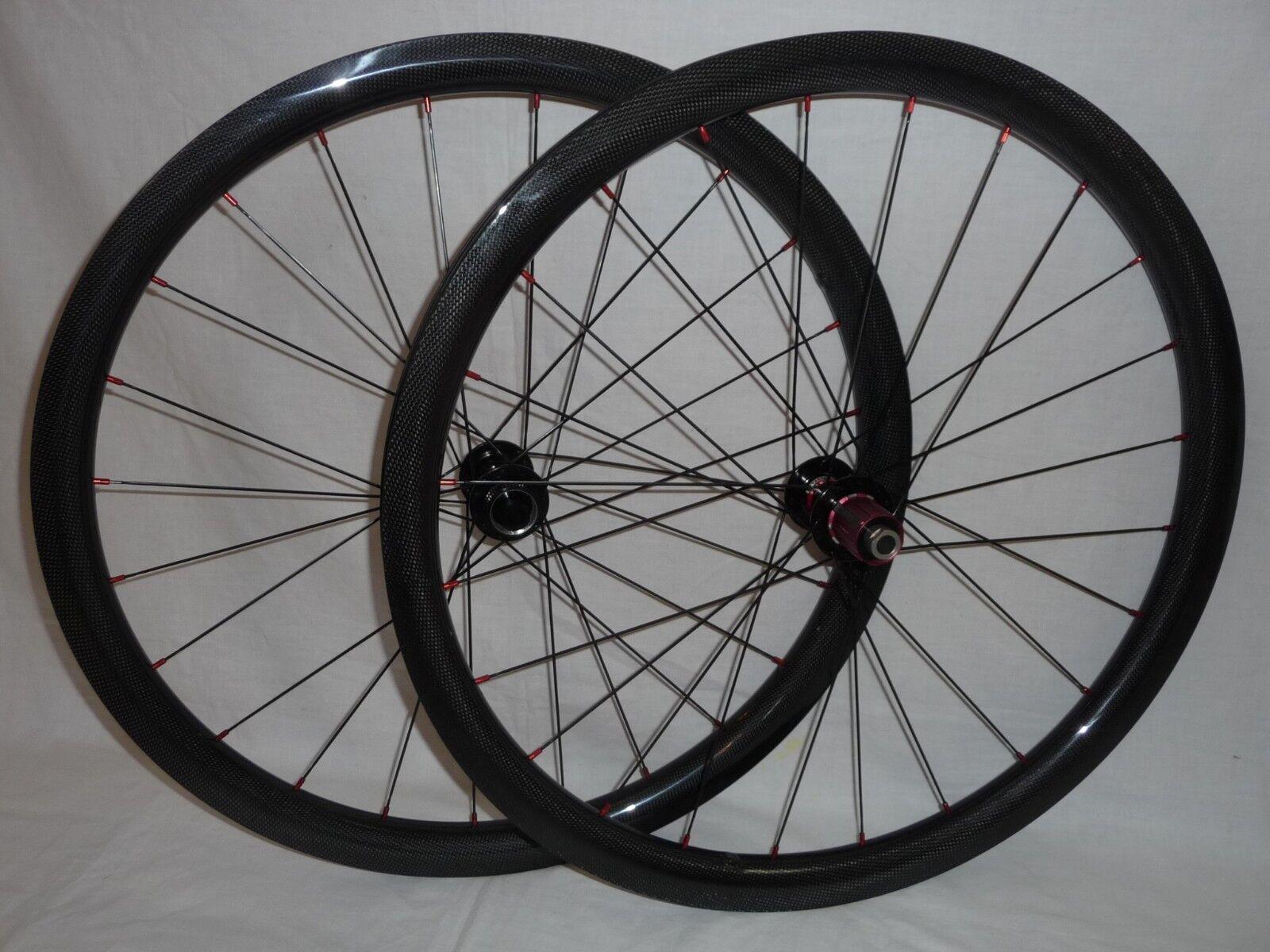 Carbonal  lightweight 35mm wide 650b disc brake wheels for Gravel Road light MTB  100% price guarantee