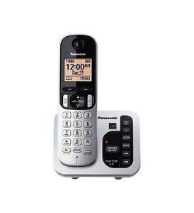 Panasonic KX-TGC220S DECT 6.0 Cordless Phone System w/ Call Block & Silent Mode