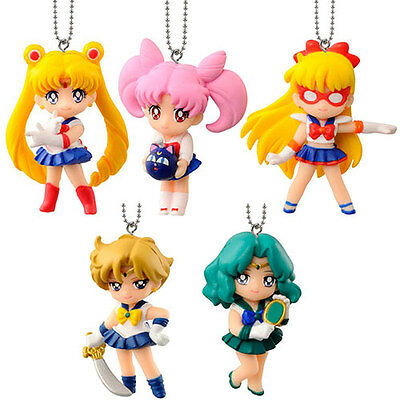 Sailor Moon Swing key chain figure gashapon set Part 2 Bandai (authentic)